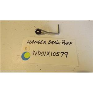 GE DISHWASHER WD01X10579 Hanger Drain Pump   used part