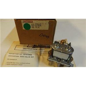 MAYTAG WHIRLPOOL DRYER 63-6786N Gas Valve  NEW IN BOX