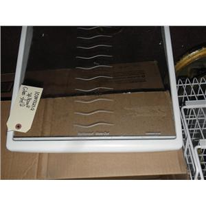 KENMORE WHIRLPOOL SIDE/SIDE REFRIGERATOR 10883323Q GLASS SPILL PROOF SHELF USED