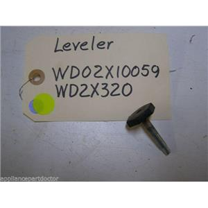 KENMORE DISHWASHER WD02X10059 WD2X320 LEVELING FEET USED PART ASSEMBLY