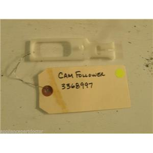 WHIRLPOOL DISHWASHER 3368997 CAM FOLLOWER USED PART ASSEMBLY