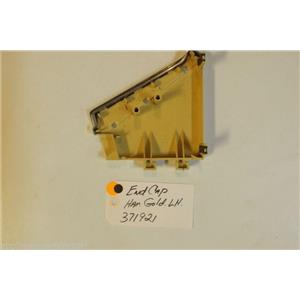 Whirlpool  Washer 371921  End cap harvest gold lh    used part