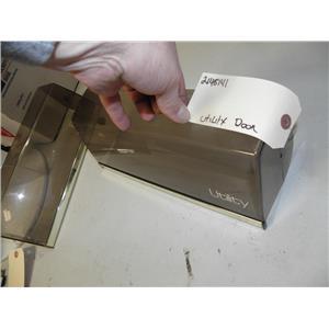 WHIRLPOOL 2 DOOR REFRIGERATOR 2148141 UTILITY COMPARTMENT DOOR USED PART