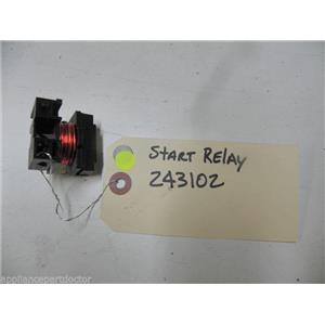 KITCHEN AID DISHWASHER 243102 RELAY START KIT USED PART ASSEMBLY