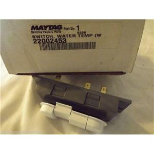 MAYTAG WASHER 22002453 Switch, Water Temp (wht)  NEW IN BOX