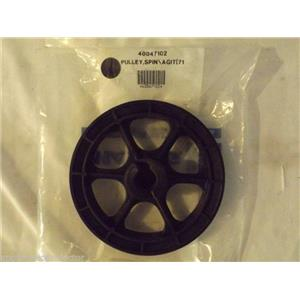 MAYTAG/AMANA WASHER 40047102 Pulley, Spin/agit (710 Rpm) NEW IN BOX