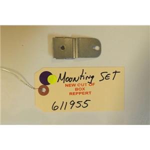 BOSCH DISHWASHER 611955  Mounting set    NEW W/O BOX