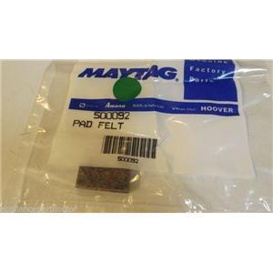 MAYTAG WHIRLPOOL DRYER 500092 Felt pad  NEW IN BOX