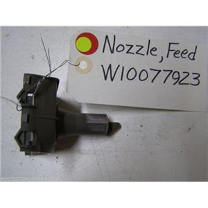 KITCHEN AID DISHWASHER W10077923 FEED NOZZLE USED PART ASSEMBLY