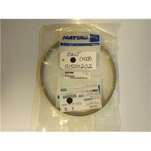 Maytag Whirlpool Washer  01500202  Belt  NEW IN BOX