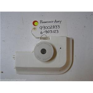 MAYTAG DISHWASHER 99002833 6-903123 903184 RINSE AID RESERVOIR W/ KNOB USED PART