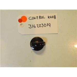 FRIGIDARE STOVE 316223019 Knob,control ,black  used