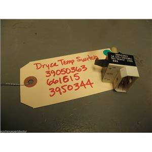 Whirlpool Kenmore Dryer 3950363 661615 3950344 Temperature Switch used part