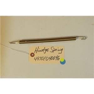 LG DISHWASHER 4970ED4004G  Hindge spring   used