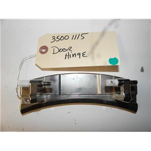 MAYTAG DRYER 35001115 DOOR HINGE USED PART ASSEMBLY F/S
