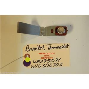 WHIRLPOOL DISHWASHER W10195091   W10300703  Bracket, Thermostat     NEW W/O BOX