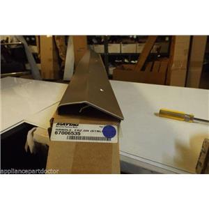 Maytag Whirlpool refrigerator 67006535 Handle, Frz. Door (stnls)  NEW IN BOX