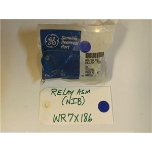 GE Refrigerator WR7X186  RELAY  NEW IN BOX
