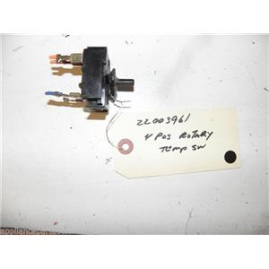 MAYTAG WASHER 22003961 4 POSITION ROTARY TEMP SWITCH USED PART ASSEMBLY F/S