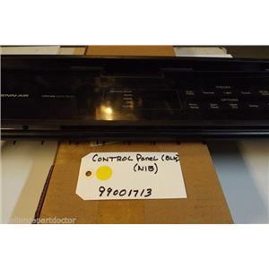 Jenn Air Dishwasher 99001713 Panel, Control (blk)  NEW IN BOX