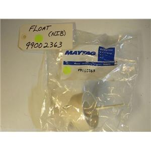Maytag Amana Dishwasher  99002363  Float   NEW IN BOX