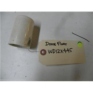 GE DISHWASHER WD12X445 FLOAT DOME USED PART ASSEMBLY