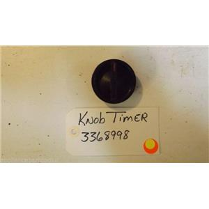 WHIRLPOOL dishwasher  3368998  Knob, Timer  used part
