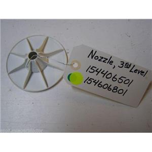 ELECTROLUX DISHWASHER 154406501 154606801 THIRD LEVEL SPRAY NOZZLE USED PART