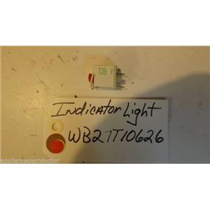 GE STOVE WB27T10626 Indicator Light USED