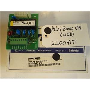 Maytag Washer  22004171  Relay Board Opl  NEW IN BOX
