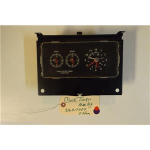 FRIGIDAIRE  STOVE 316017404    Clock/timer, Analog 3 Stem    used