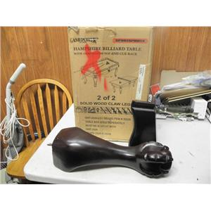"""HAMPSHIRE BILLIARD LEGS ONLY """"NEW ITEM"""" FAST SHIPPING"""