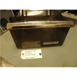 REFRIGERATOR WR32X985 VEGETABLE PAN (cool n fresh) (smoke)    USED PART