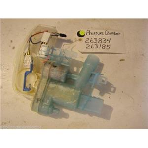 Bosch dishwasher  Pressure chamber 263834  263185 USED PART