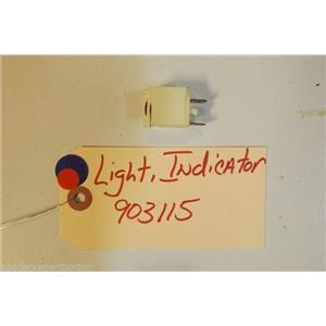 AMANA  STOVE 903115 Light, Indicator 125v   USED PART