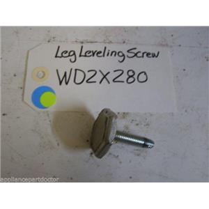 GE DISHWASHER WD2X280 Leg Leveling Screw  USED PART