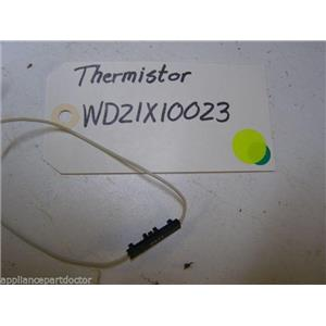 GE DISHWASHER WD21X10023 THERMISTOR USED PART ASSEMBLY