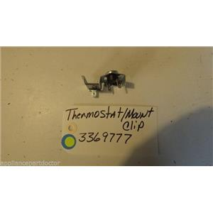 KENMORE Dishwasher 3369777  thermostat with mount clip  USED PART