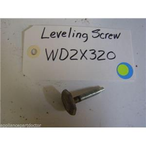 GE DISHWASHER WD2X320 Screw Level USED PART