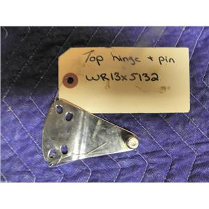 GE REFRIGERATOR WR13X5132 TOP HINGE PIN USED PART ASSEMBLY FREE SHIPPING