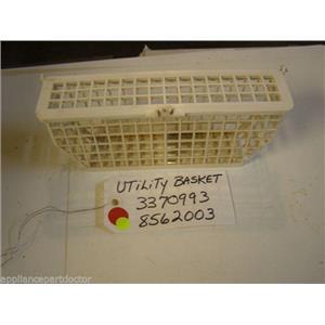 Kenmore  DISHWASHER 3370993  8562003   SILVERWARE BASKET used