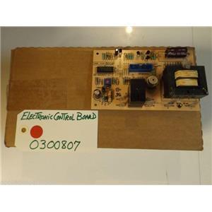 Whirlpool Stove 0300807  Electronic Control Board NEW IN BOX