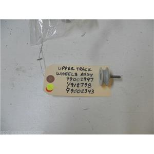 MAYTAG DISHWASHER 99002947 99002622 Y912798 99002343 UPPER TUB WHEEL WASHER SHAF