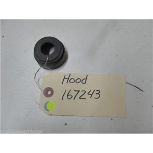 BOSCH DISHWASHER 167243 HOOD USED PART ASSEMBLY