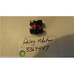 KENMORE Dishwasher 3369447 relay,motor USED PART