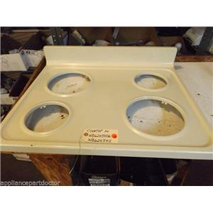 GE STOVE WB62X5406  WB62X5411  Cooktop Ad used part