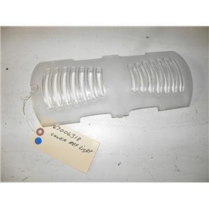 AMANA REFRIGERATOR 67006318 LIGHT COVER USED PART ASSEMBLY