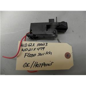 GE HOTPOINT DISHWASHER WD12X10023 WD21X479 FLOOD SWITCH USED PART ASSEMBLY