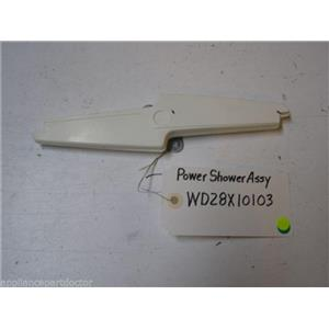 HOTPOINT DISHWASHER WD28X10103 WD22X116 POWER SHOWER USED PART ASSEMBLY