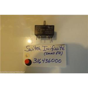 FRIDIGDARE  STOVE 316436000 Switch,infinite USED PART